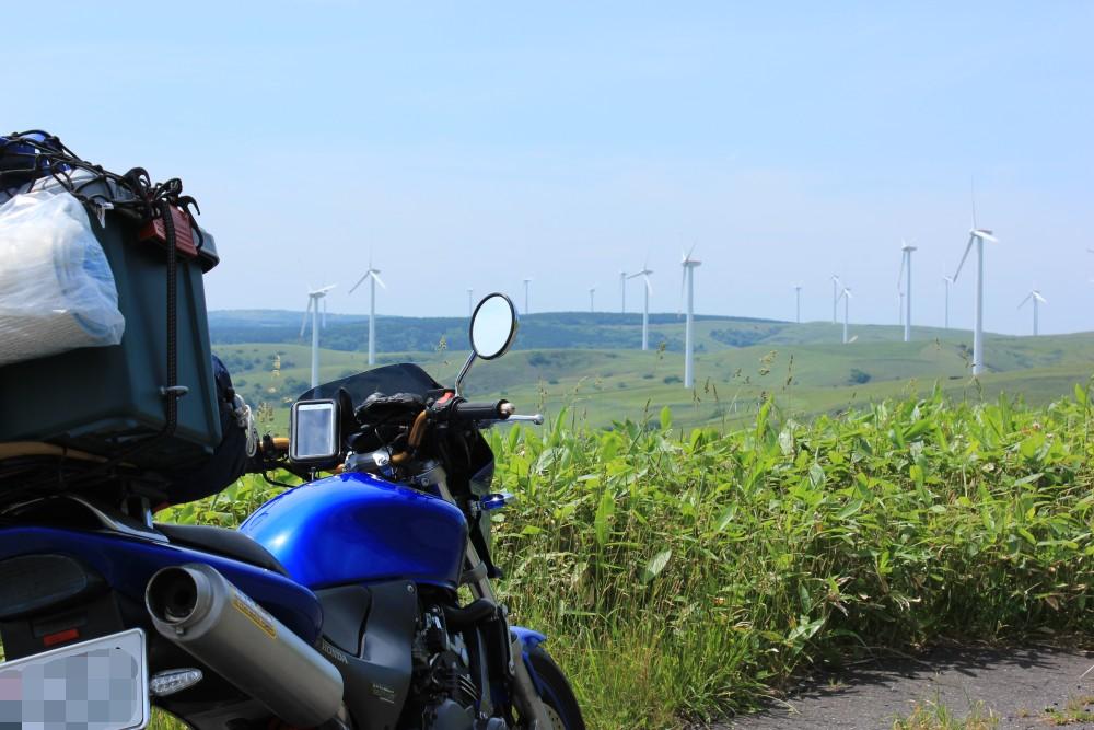 宗谷丘陵の風車