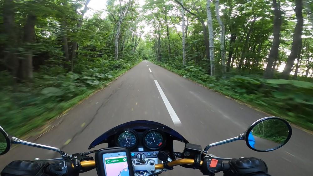 サロマ湖までの道